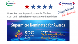 SDC- und Technology-Product Award