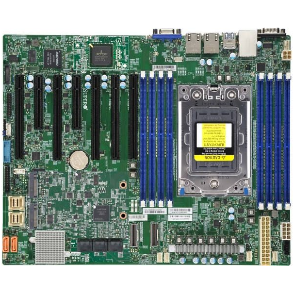 Supermicro Motherboard H12SSL-C (bulk pack)